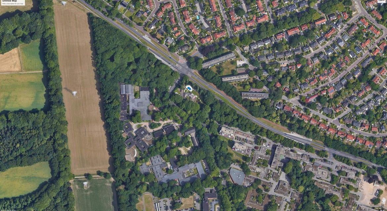 Luchtfoto Heijenoordseweg